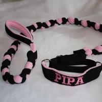 Braided Slip Collar Leash